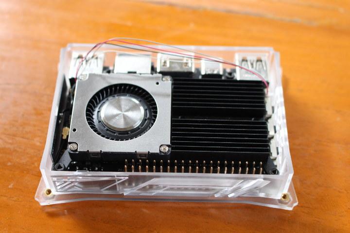 Khadas VIM3 fan heatsink installation
