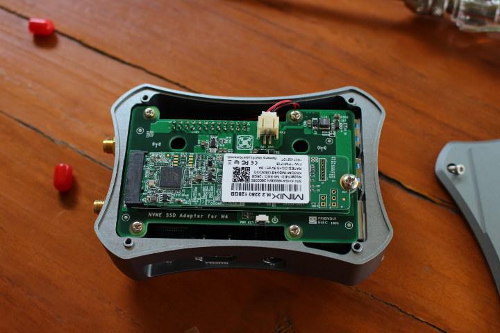NanoPi M4 SSD