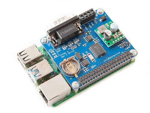 PiCAN3 CAN Bus Board for Raspberry Pi 4 with 3A SMPS And RTC