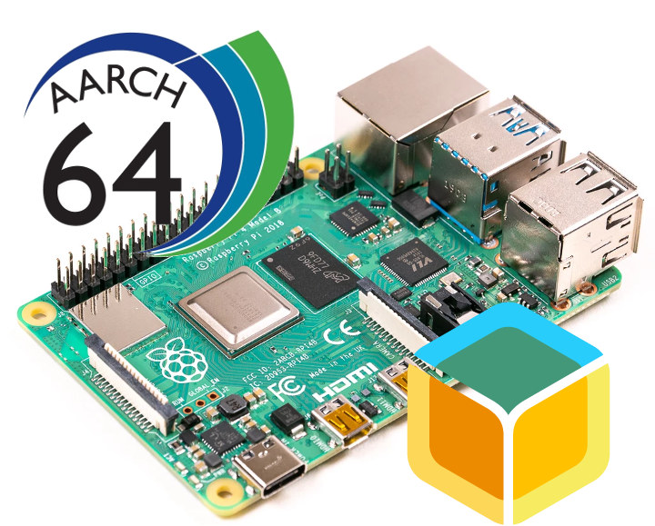 Raspberry Pi 4 64-bit OS
