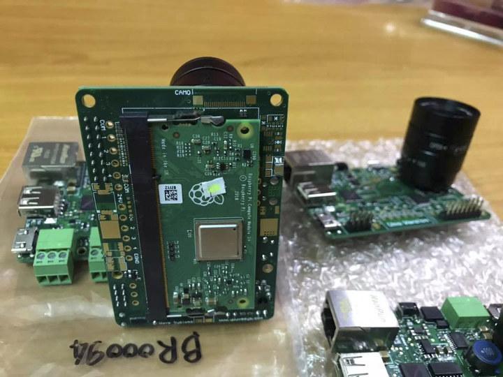 Raspberry Pi CM3+ Smart Camera