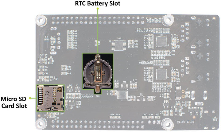 SBC RTC & MicroSD