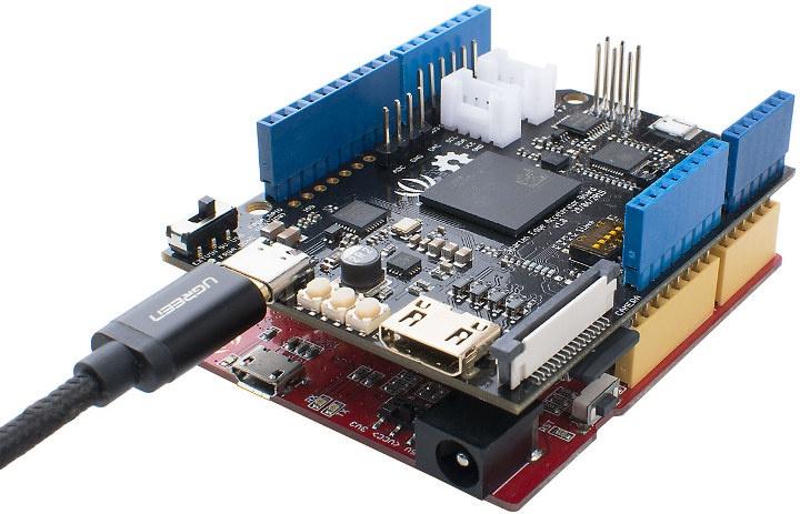 Spartan Edge Accelerator Arduino UNO