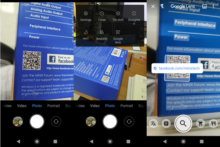 Android Camera QR Code