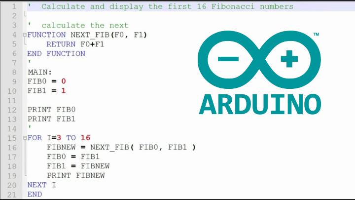 BASIC Compiler Arduino