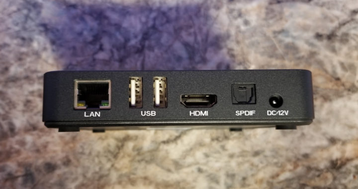 Ethernet USB HDMI SPDIF