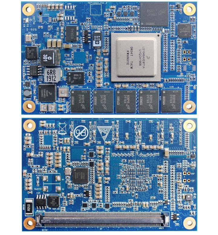 LS1046A COM Express Mini-Type 10 Sytem-on-Module