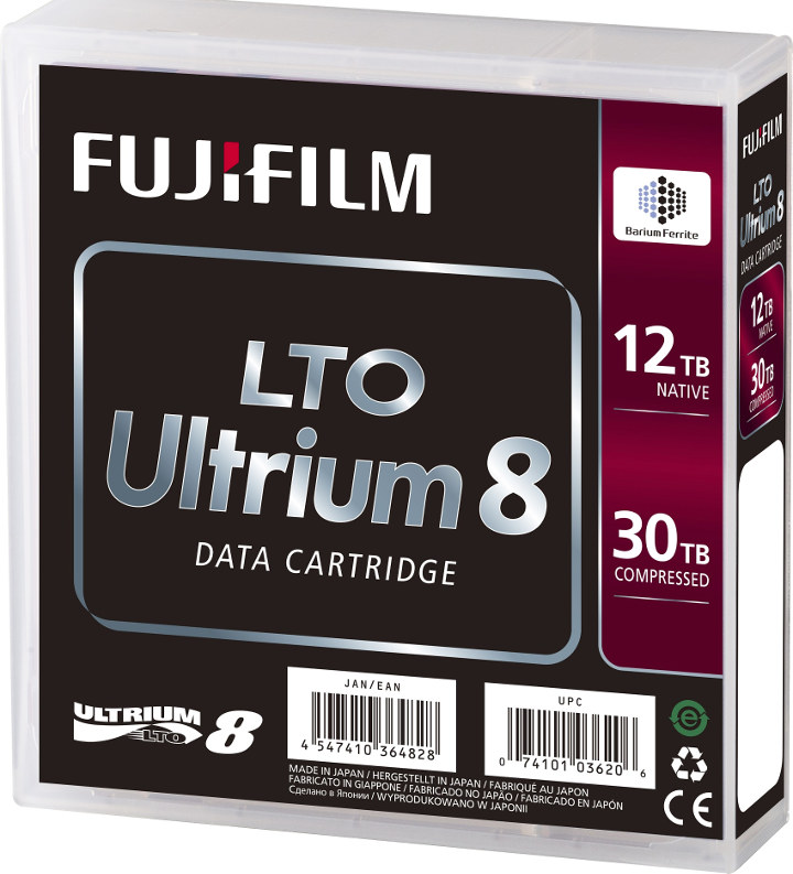LTO Ultrium8 Data Cartridge