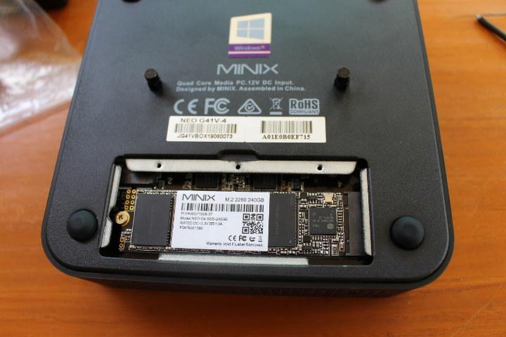 MINIX M.2 SSD Installation