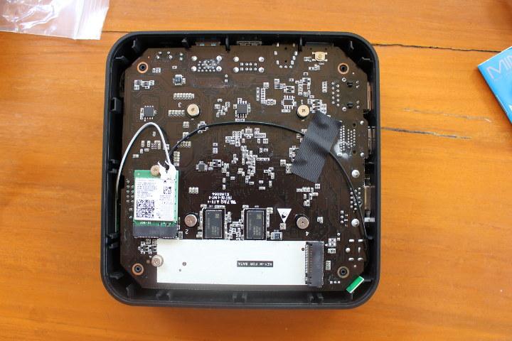 MINIX NEO G41V-4 Board M.2 SATA SSD & WiFi