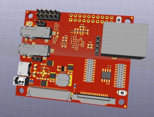 OSHW IP Camera Board
