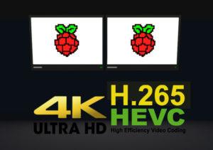 Raspberry Pi 4 4K Digital Signage