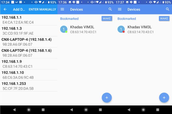 Wake-on-LAN Android App