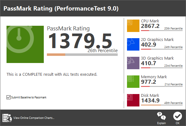 passmark-performancetest-9.0passmark performancetest 9.0