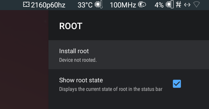 tv box root & unroot