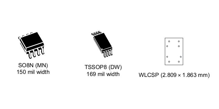 8-pin 4 MBit SPI EEPROM