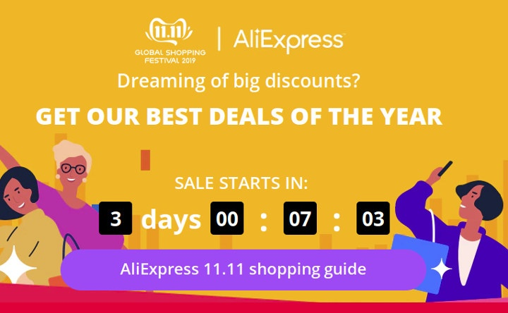 Aliexpress Global Shopping Festival 2019