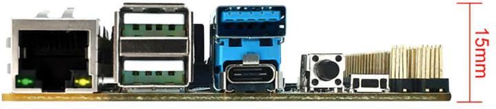 Leez P710 USB Ports