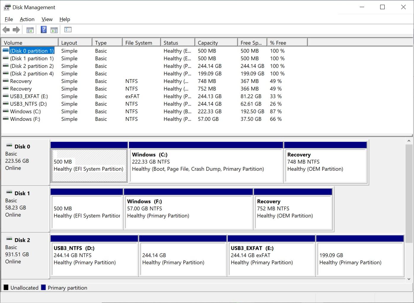 MINIX NEO G41V-4 Disk Management