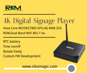 4K digital signage player
