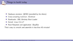 RISC-V Linux QEMU Buildroot