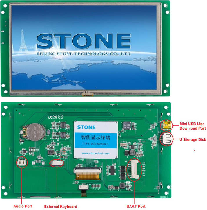STONE LCD Display