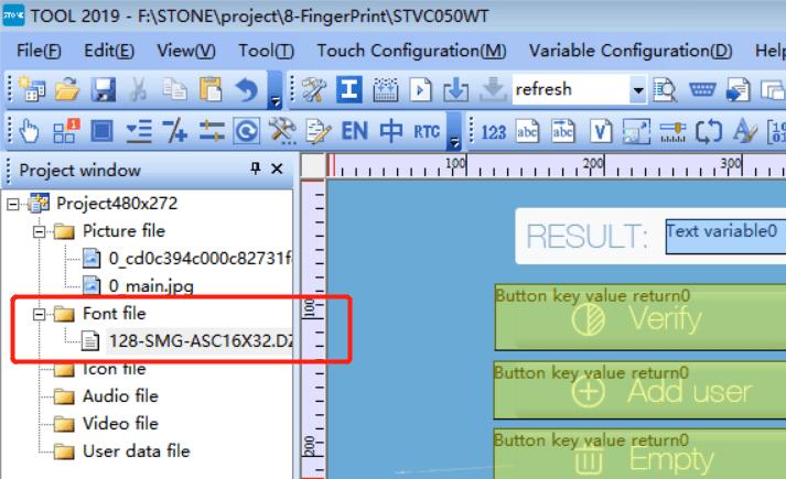 STONE Tool Font