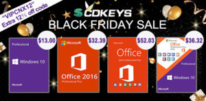 Windows 10 & Microsoft Office Black Friday 2019