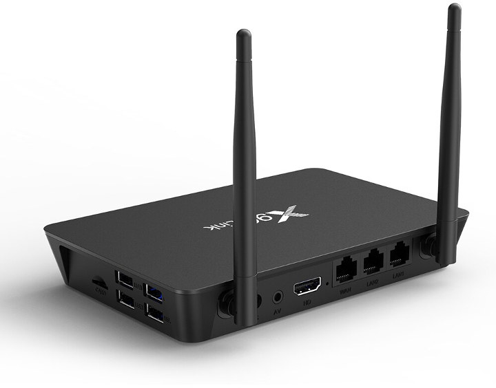 X96 Link TV Box Router