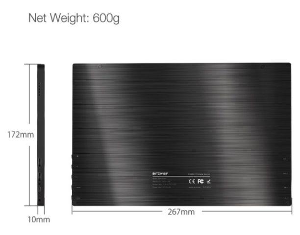 BlitzWolf BW-PCM1 dimensions