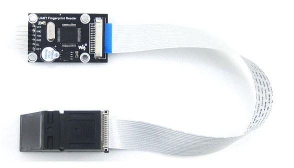 serial fingerprint module