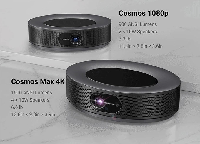 Cosmos Max 4K Projector with Amlogic T962X2
