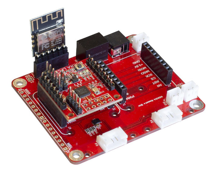 MikroBUS Baseboard-MCU-Module ESP8266 Module