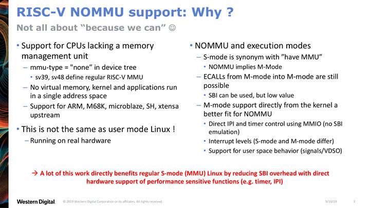 RISC-V NOMMU Linux