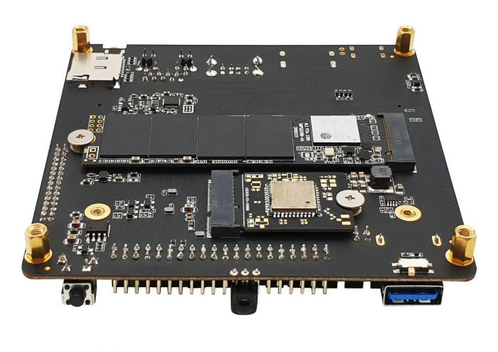 RK3399Pro SBC with M.2 NVME SSD and Wireless Module