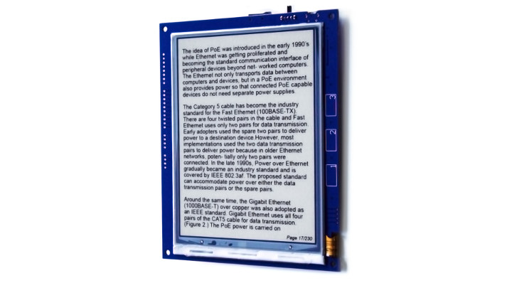 Recycled Kindle eReader Wireless Display