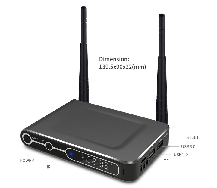Rikomagic MK25 Digital Signage TV Box