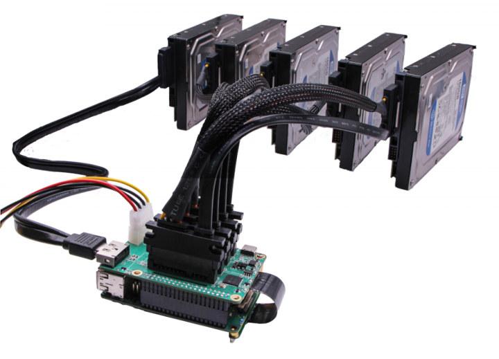 Rock Pi 4 5 SATA + eSATA drives