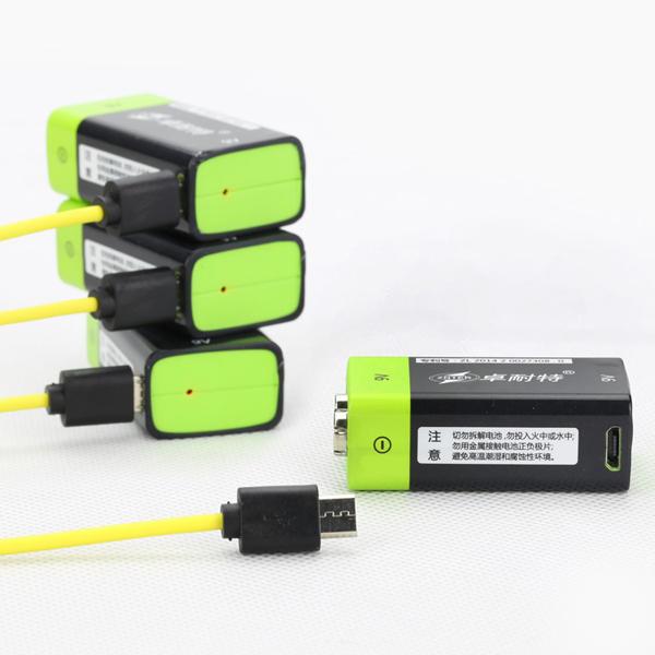 9V Battery USB