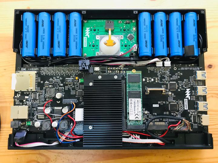 Arm Linux Modular DIY Laptop