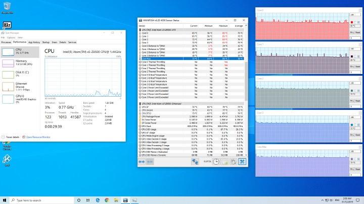 Beelink BT4 Review windows fan cooling
