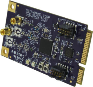 Gateworks GW16122 Dual-Band IoT mPCIe Card