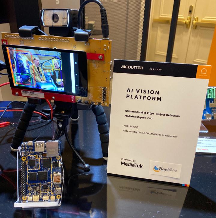 MediaTek i500 AI Vision Platform