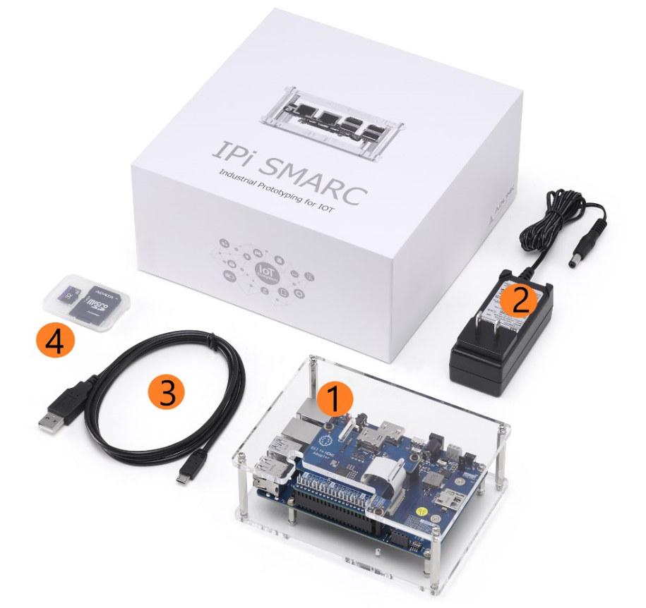 ADLink Industrial Pi-SMARC Devkit