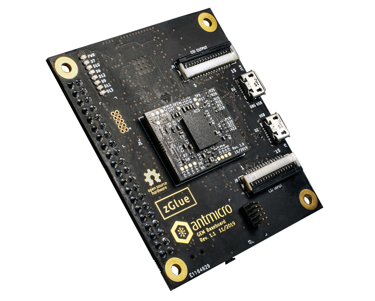 Antmicro zGlue Processor Module and Board