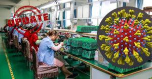 Coronavirus factory closed china