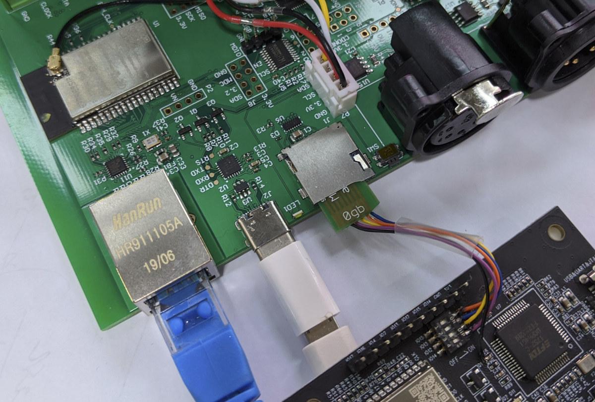 ESP32 JTAG via Micro SD Card