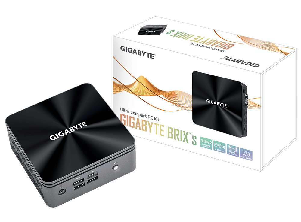 GIGABYTE BRIX Comet Lake Mini PC