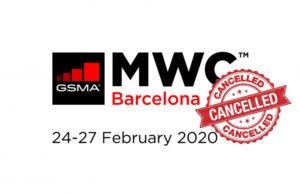 MWC 2020 Canceled