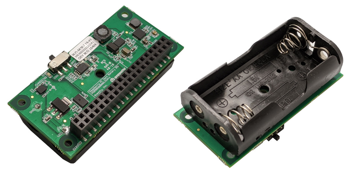 Raspberry Pi Zero AA Battery Board